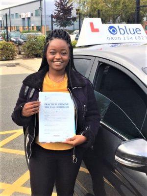 Bracknell Driving Test Pass for Anita Funani
