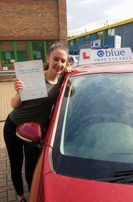 Bracknell Driving Test Pass for Annie