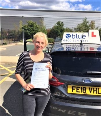 Bracknell Driving Test Pass for Deanna Miller