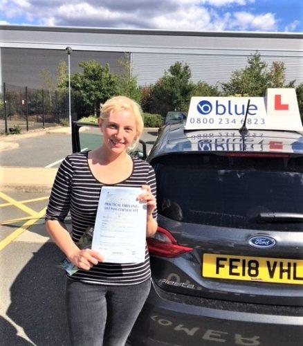 Bracknell Driving Test Pass for Deanna Miller