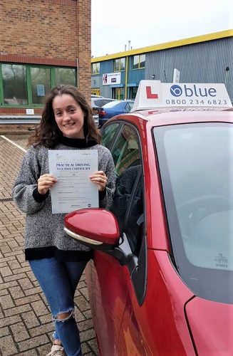 Bracknell Driving Test Pass for Frances