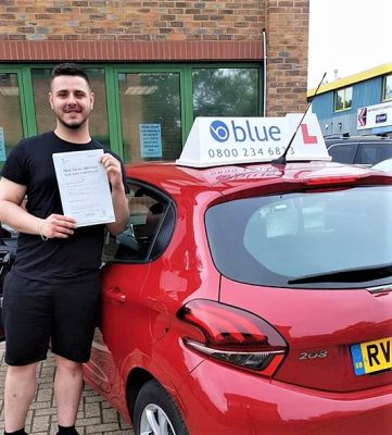 Bracknell Driving Test Pass for Geoff