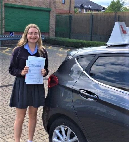 Bracknell Driving Test Pass for Jemima Denton