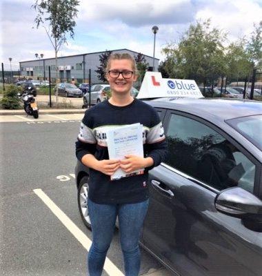 Bracknell Driving Test Pass for Joanna Ruddock