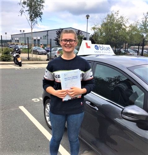 Bracknell Driving Test Pass for Joanna Ruddock