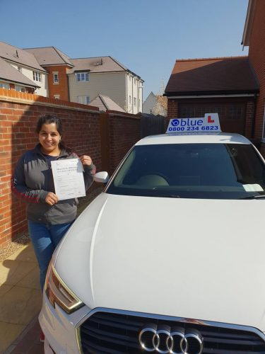 Bracknell Driving Test Pass for Maham