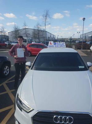 Bracknell Driving Test Pass for Oliver Allison