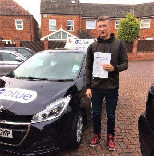 Bracknell Driving Test for Boris Bartenev