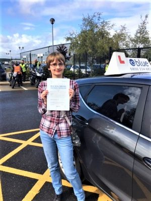 Bracknell Driving Test pass Libby Shields
