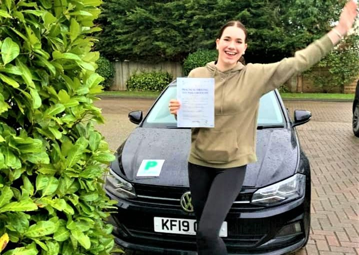 Bracknell Driving Test pass for Anna