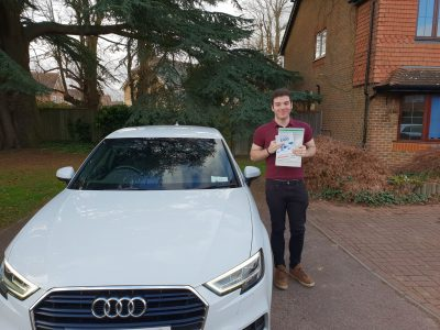 Bracknell Driving Test pass for Ben Radford