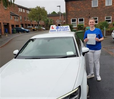 Bracknell Driving Test pass for Harley Chapman