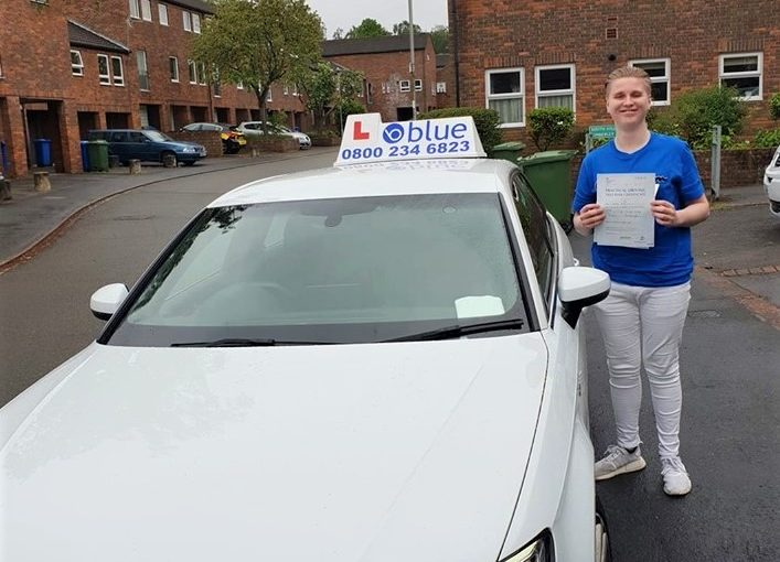 Harley Chapman from Bracknell passed your driving test