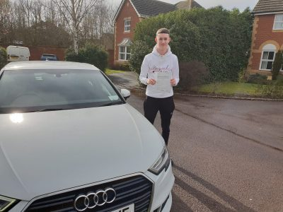 Bracknell Driving Test pass for Harry