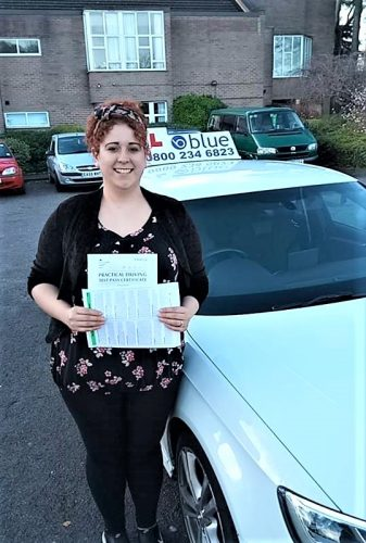 Bracknell Driving Test pass for Sue Burton