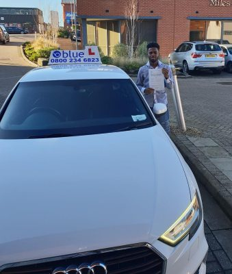 Bracknell Driving Test pass for Victor