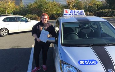 Bracknell Driving lessons for Becca Moore
