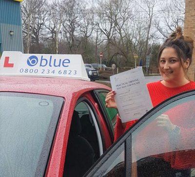 Bracknell driving lessons for Beth