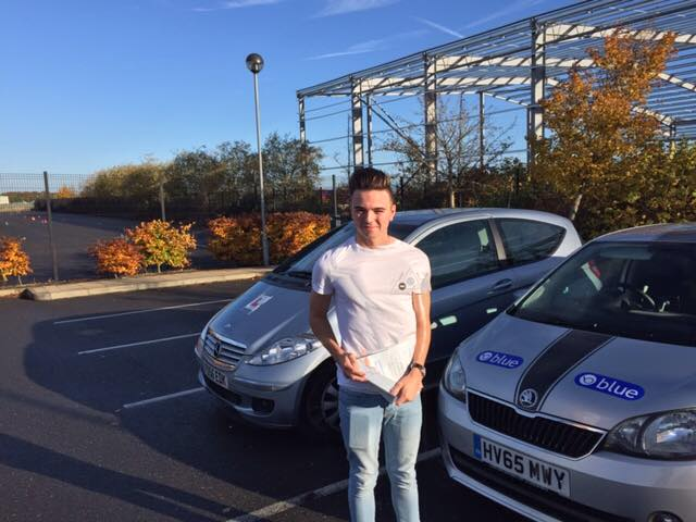 Well done to Brad Tuckett from Yateley who passed in Farnborough