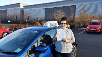 Camberley Driving Lessons for Danielle Reynolds-James
