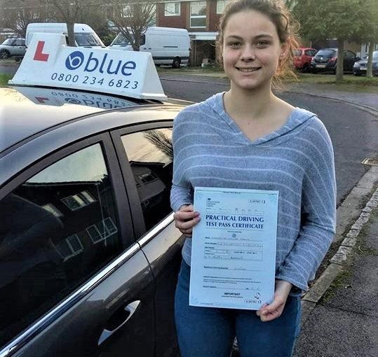 Reading Driving Test Pass for Josie Hearn from Charvil