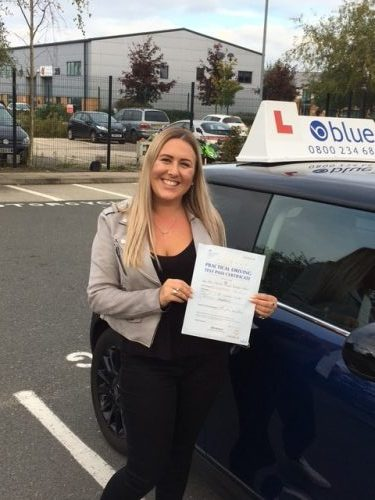 Chavey Down Driving Lessons for Larissa Borredell-Brown