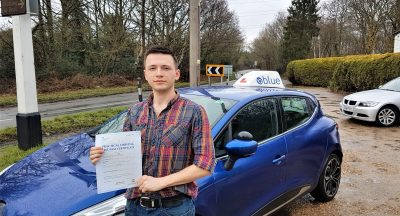 Chobham Driving Lessons for Tim Britt-Searle