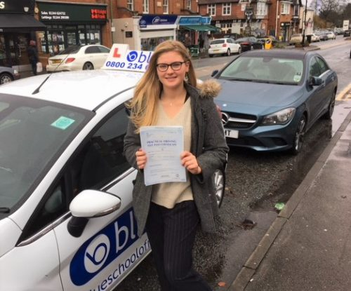 Crowthorne Driving Lessons for Lauren Trotter