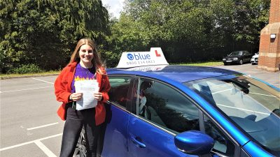 Driving Lesson Pass in Trudoxhill for Freya Applegate
