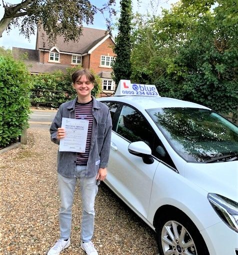 Windsor Driving Test pass for Ollie Casale