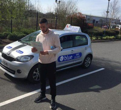 Driving Test Pass in Farnborough Luke White