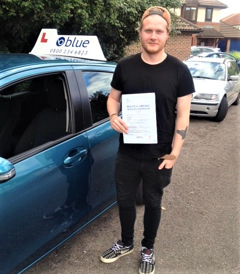 Driving Test pass for Chris Watts