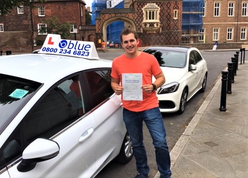 Eton Driving Lessons for Sebastian Stanga
