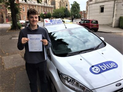 Eton Driving Test Pass for Charlie Wade
