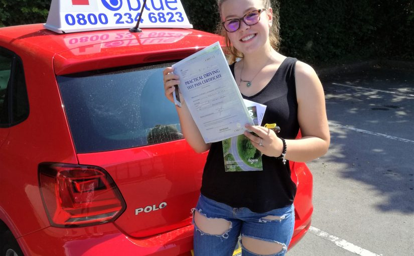 Eversley Driving test pass for Madison Warwick