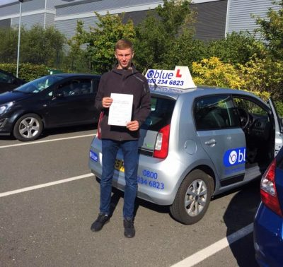 Farnborough Driving Lessons for Charlie Robertson