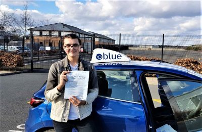 Farnborough Driving Test Pass Erik Lambert