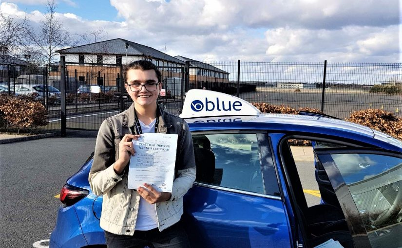 Fantastic result for Erik Lambert passed who passed his driving test FIRST TIME in Farnborough