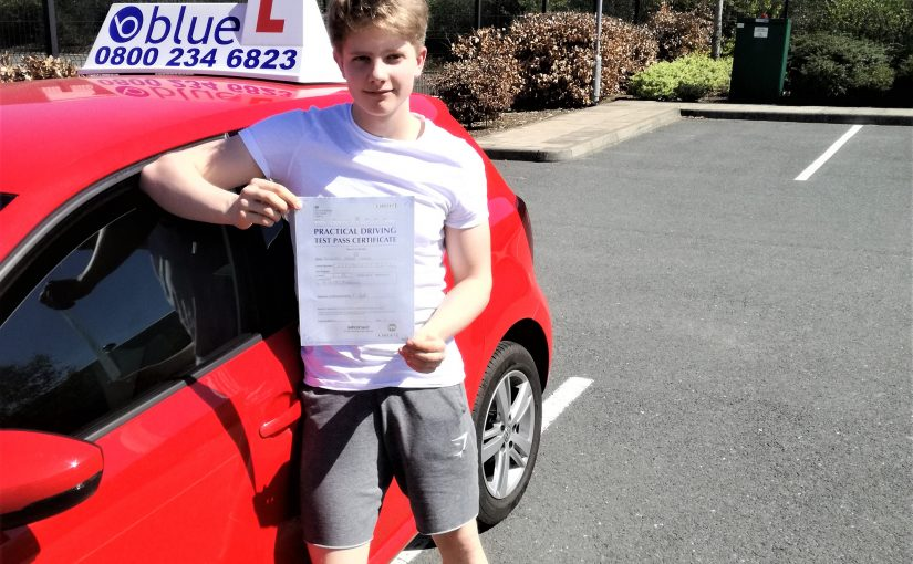 Congratulations to Alex Cooper of Lightwater who passed his driving test first