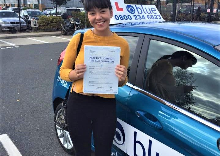 Farnborough Driving Test Pass for Ceilidh