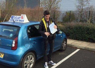 Farnborough Driving Test Pass for Charlie Brett