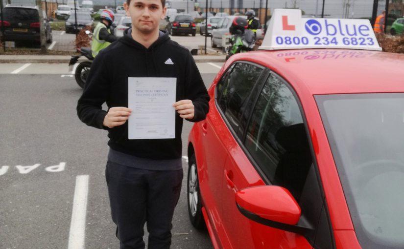 Farnborough-Driving-Test-Pass-for-Dominic-Kilbane