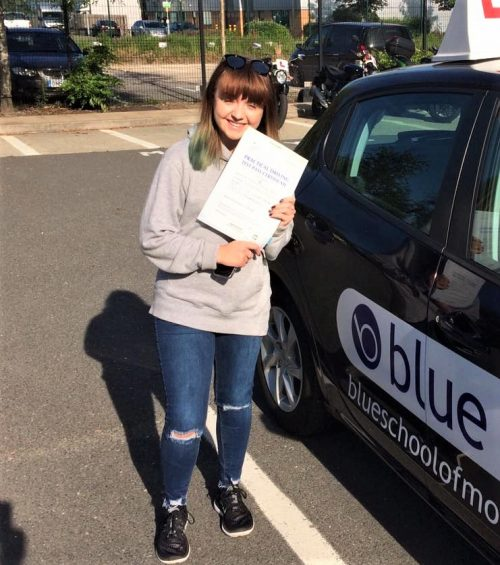 Farnborough Driving Test Pass for Emilia John