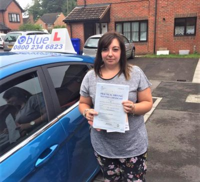 Farnborough Driving Test Pass for Emma Morris