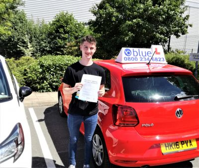 Farnborough-Driving-Test-Pass-for-Harry-Upshall