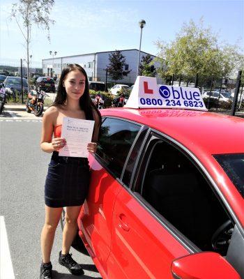 Farnborough-Driving-Test-Pass-for-Jessica-Tia-Brammer