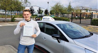 Farnborough Driving Test Pass for Josh Tizzard