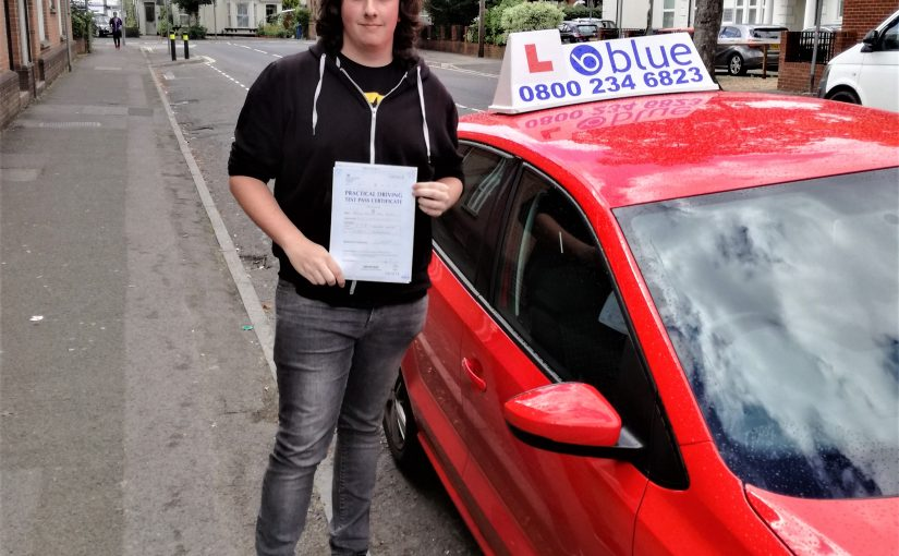 Driving Test Pass for Joshua Booth at Farnborough