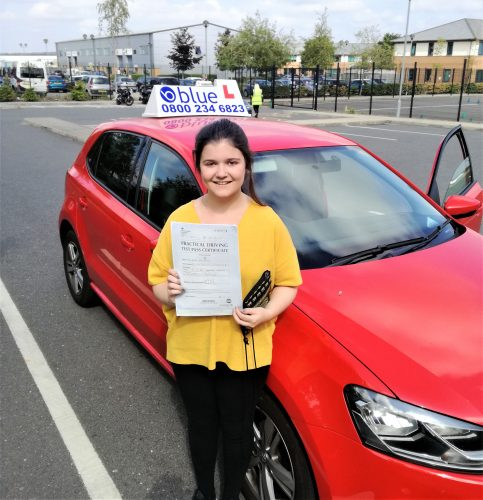 Farnborough-Driving-Test-Pass-for-Katie-Beard