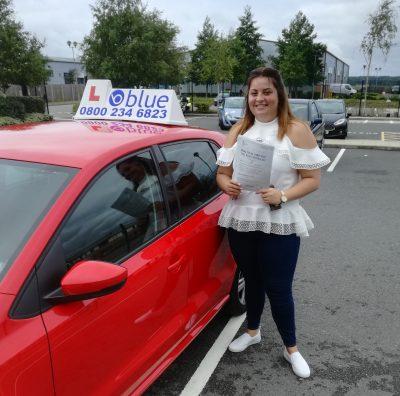 Farnborough-Driving-Test-Pass-for-Martine-Loveridge